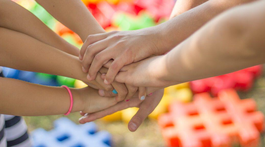 Hände Freundschaft